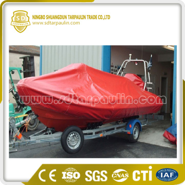 UV Protection Boat Cover Red Cover