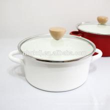 5 pcs personnalisé émail ustensiles de cuisine en gros pot de cuisson