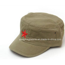 High Quality Embroidery Lady Military Cap
