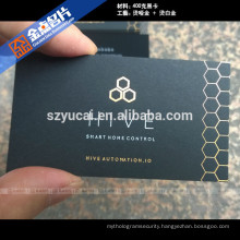Eco-friendly offset printing luxury shenzhen factory custom business card