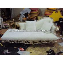 Белый цвет Королевский диван-стул 021