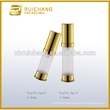 5ml/8ml cosmetic airless bottle,plastic airless pump bottle,cosmetic airless bottle
