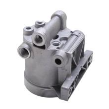 Carcaça de fundição de alumínio Heavy Duty Truck Oil Separator Shell de água