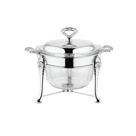 Deep Round Chafing Dish Food Warmer