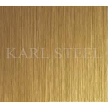 De alta qualidade 201 cor de aço inoxidável Ket010 Hlsheet