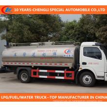 Caminhão fresco do leite de 8tons Dongfeng