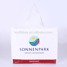 Wiederverwendbares förderndes lamiertes Polypropylen pp. Gesponnenes EinkaufsTaschen-Taschen-Lebensmittelgeschäft für Supermarkt