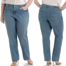 Wholesale Ladies Big Size Jeans Sexy Fashion Jeans Trousers