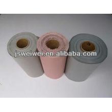 Tissu enduit de fibre de verre enduit par caoutchouc enduit de silicone de tissu enduit de silicone