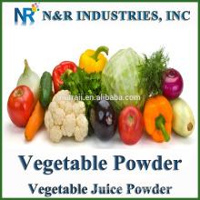 Fournir poudre de légumes ou poudre de jus de légumes 100% pure et naturelle