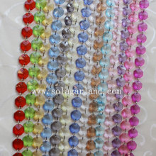 Best-Selling for Acrylic Crystal Bead Strand Decorative Wedding Octagon Acrylic Plastic Bead Chains supply to Finland Supplier