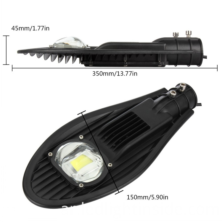 China 50w COB LED Street Light