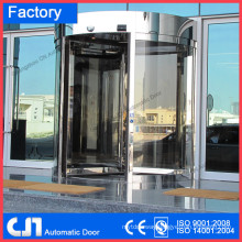Office Building Automatic Circle Moving Door CE Certification