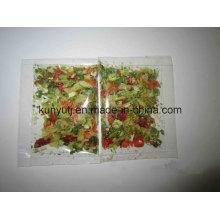 Sachet instantané de légumes secs aux noix de coco avec haute qualité