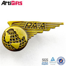 Wholesale souvenir métal personnalisé état en forme de revers épingles