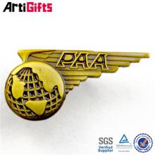 Оптовая металла сувенира подгонянные государственной образные штыри отворотом