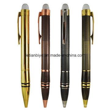 Stylo à bille à tête en cristal, stylo en métal haut de gamme (LT-C784)
