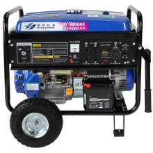 Gerador portátil da gasolina 8kw com armação do metal
