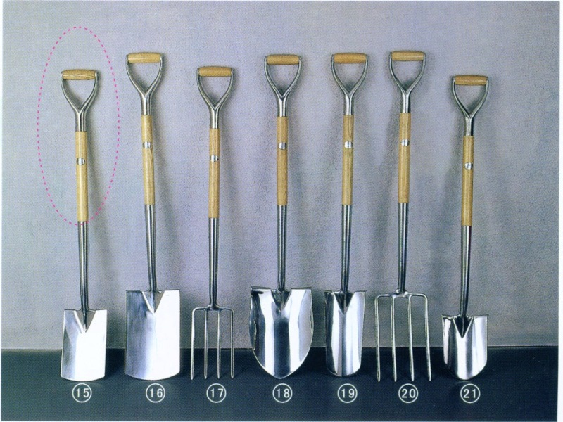 Stainless Steel Garden Spade And Fork