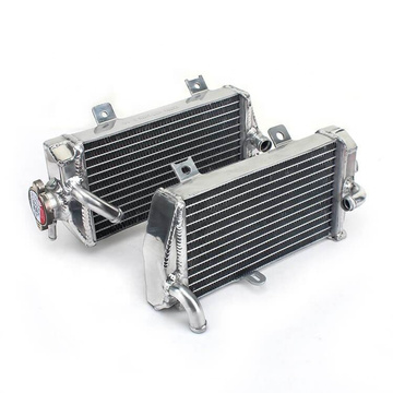 Aftermarket all aluminum motorcycle radiator for Honda CRF/CR 80 125 150 250 450 R X