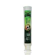 Embalaje de tubo de pasta de dientes material PBL con tapa de pie