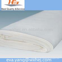 Venda direta da fábrica folha de cama branca polycotton / venda de tecido de linho