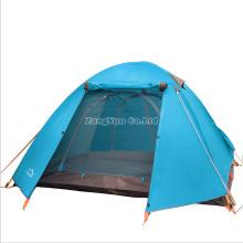 Im Freien 3-4 Personenzelte, wasserdichte Campingzelte