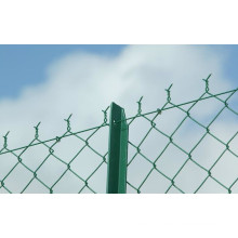 Made in China Galvanized Chain Link Fences are used in protective place like airport