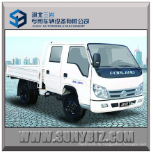 2tons Twin Cab Rhd 4X2 Forland Diesel Light Cargo Truck