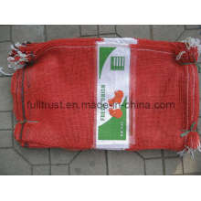 Red Onion Bag with Label