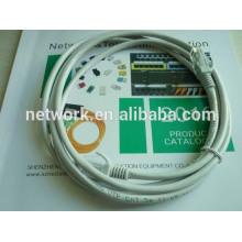 24AWG Cobre desnudo (o CCA) UTP Cat5e Cable de puente