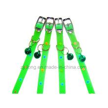 PVC-leuchtende Fünf-Spitz-Stern-Hundehalsringe Dp-CS1158