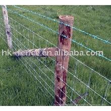 Покрынная PVC Загородка поля