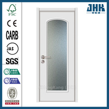 JHK-Divider Wood With Glass Vision Panel Interior Door