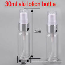 30ml Brillante Alu de Plata Personal Cuidado de la Piel Bomba Lotion / Serum Bottle