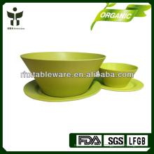 Conjunto de placas de fibra de bambú