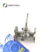 JKTLFB018 hierro fundido cf8m 1000wog 2 piezas brida de agua 16 válvula de bola