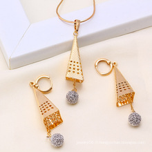 Xuping Fashion Copper Jewelry Set