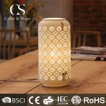 Заводская цена китайская ваза в форме цветка керамические настольные лампы