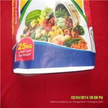 BOPP laminado PP Woven Bag OEM Production