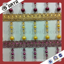Professional Factory Of Wholesale Tassels Beaded Trimming Trims For Curtains