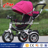 Luxury 4 in 1 baby tricycles with canopy/wholesale children tricycle with sunshade/transposition multifunctions trike for kids                                                                         Quality Choice