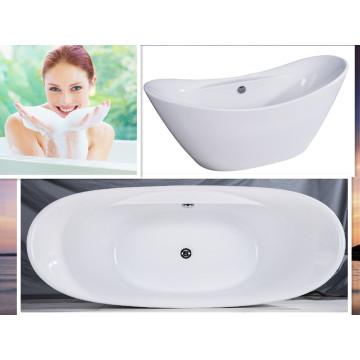 Cupc CE Double End Klassische freistehende Badewanne