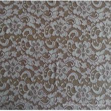 2015 Imprimir encaje tejido de encaje químico de ganchillo