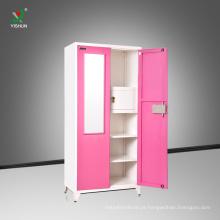 projeto do wardrobe com projeto do wardrobe do quarto do aço da porta do preço 2