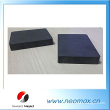 Grade 3 ferrite magnet block for magnetic seperator