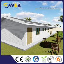 (WAS1011-24D) Construction rapide Mur de silicate de calcium ALC Panel Building Prefab Homes for Sales