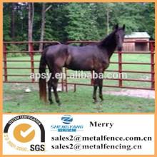 painel tubular usado metal da cerca para a fazenda de gado / cerca do painel do cavalo
