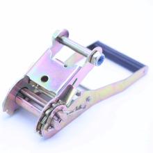 Hebilla de trinquete de acero ajustable y correa para camión / carga amarre 022029