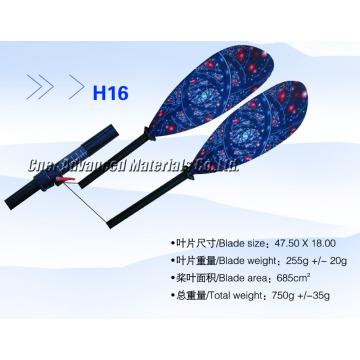 CC005 La pagaie réglable en sup de carbone de la meilleure qualité, pagaie de kayak en carbone